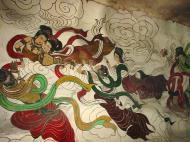 Asisbiz Ipoh San Bao Dong cave Buddhist temple paintings Jul 2000 18