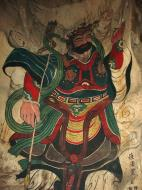 Asisbiz Ipoh San Bao Dong cave Buddhist temple paintings Jul 2000 28