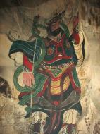 Asisbiz Ipoh San Bao Dong cave Buddhist temple paintings Jul 2000 29