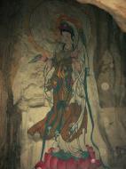 Asisbiz Ipoh San Bao Dong cave Buddhist temple paintings Jul 2000 31