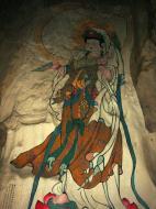 Asisbiz Ipoh San Bao Dong cave Buddhist temple paintings Jul 2000 33