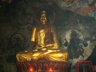 Asisbiz Ipoh San Bao Dong cave main Buddha Jul 2000 02