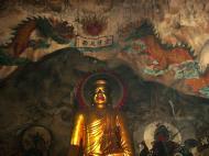 Asisbiz Ipoh San Bao Dong cave main Buddha Jul 2000 04