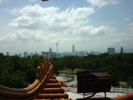 Asisbiz Kuala Lumpur Thean Hou Temple panoramic views 01
