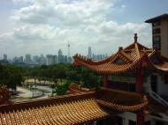 Asisbiz Kuala Lumpur Thean Hou Temple panoramic views 03