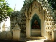 Asisbiz Amarapura Mandalay Buddha hive stupa Nov 2004 03