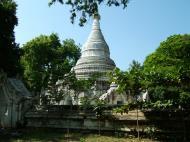 Asisbiz Amarapura Mandalay Buddha hive stupa Nov 2004 04