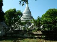 Asisbiz Amarapura Mandalay Buddha hive stupa Nov 2004 05