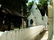 Asisbiz Amarapura Mandalay Buddha hive stupa Nov 2004 08