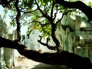 Asisbiz Amarapura Mandalay Buddha hive stupa Nov 2004 09