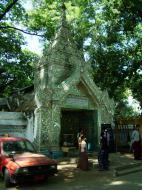 Asisbiz Amarapura Mandalay Buddha hive stupa Nov 2004 12