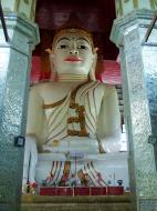 Asisbiz Amarapura Mandalay Thaungthaman lake main Buddha Nov 2004 01