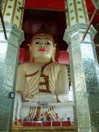 Asisbiz Amarapura Mandalay Thaungthaman lake main Buddha Nov 2004 02