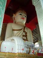 Asisbiz Amarapura Mandalay Thaungthaman lake main Buddha Nov 2004 03