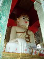 Asisbiz Amarapura Mandalay Thaungthaman lake main Buddha Nov 2004 04