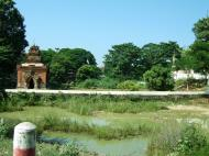 Asisbiz Amarapura Mandalay Thaungthaman lake panoramic views Nov 2004 01