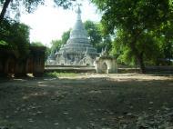Asisbiz Amarapura Mandalay Thaungthaman lake panoramic views Nov 2004 03