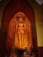 Asisbiz Ananda Pagoda standing Buddhas Pagan Dec 2000 01