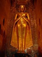 Asisbiz Ananda Pagoda standing Buddhas Pagan Dec 2000 02