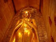 Asisbiz Ananda Pagoda standing Buddhas Pagan Dec 2000 04