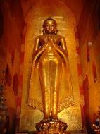 Asisbiz Ananda Pagoda standing Buddhas Pagan Dec 2000 06