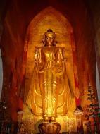 Asisbiz Ananda Pagoda standing Buddhas Pagan Dec 2000 07