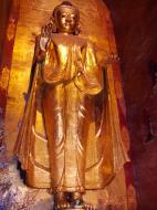 Asisbiz Ananda Pagoda standing Buddhas Pagan Dec 2000 09