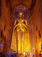 Asisbiz Ananda Pagoda standing Buddhas Pagan Dec 2000 11