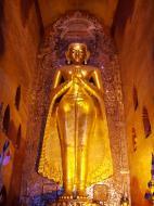 Asisbiz Ananda Pagoda standing Buddhas Pagan Dec 2000 12