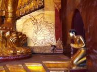 Asisbiz Ananda Pagoda standing Buddhas Pagan Dec 2000 14