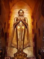 Asisbiz Ananda Pagoda standing Buddhas Pagan Dec 2000 15