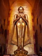 Asisbiz Ananda Pagoda standing Buddhas Pagan Dec 2000 16