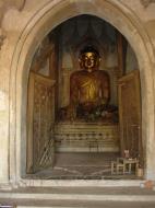 Asisbiz Myanmar Pagan main Buddha statues Dec 2000 01