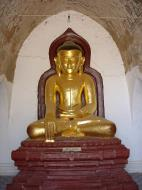 Asisbiz Myanmar Pagan main Buddha statues Dec 2000 03