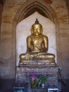 Asisbiz Myanmar Pagan main Buddha statues Dec 2000 05
