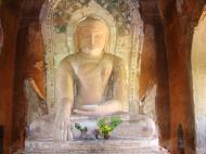 Asisbiz Myanmar Pagan main Buddha statues Nov 2004 02