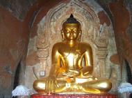 Asisbiz Myanmar Pagan main Buddha statues Nov 2004 06