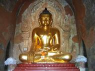 Asisbiz Myanmar Pagan main Buddha statues Nov 2004 07