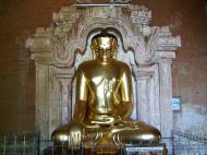 Asisbiz Myanmar Pagan main Buddha statues Nov 2004 09