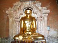 Asisbiz Myanmar Pagan main Buddha statues Nov 2004 10