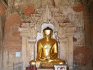 Asisbiz Myanmar Pagan main Buddha statues Nov 2004 11