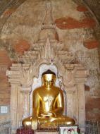 Asisbiz Myanmar Pagan main Buddha statues Nov 2004 12
