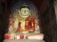 Asisbiz Myanmar Pagan main Buddha statues Nov 2004 15