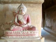 Asisbiz Myanmar Pagan main Buddha statues Nov 2004 16