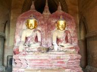 Asisbiz Myanmar Pagan main Buddha statues Nov 2004 18