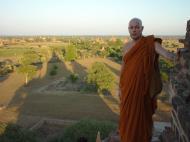 Asisbiz Myanmar Bagan sunset panoramic views Dec 2000 26