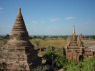 Asisbiz Panoramic views Bagan Myanmar Dec 2000 18