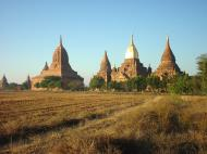 Asisbiz Panoramic views Bagan Myanmar Dec 2000 37