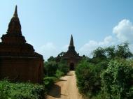 Asisbiz Panoramic views Bagan Myanmar Dec 2000 45