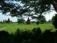 Asisbiz Panoramic views Bagan Myanmar Dec 2000 59